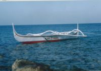 King Fisher (1st) was a standard trawling banka equipped with a 16HP Briggs&Stratton engine.