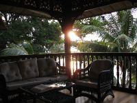 The veranda at Tamarind Beach.