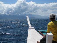 Passenger banka heading for Sabang in Puerto Galera.