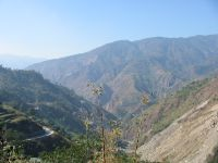 Kennon road - the southern approach to Baguio.