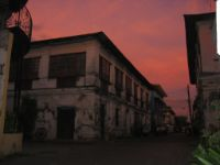 Spanish architecture in Vigan, Ilocos Sur.