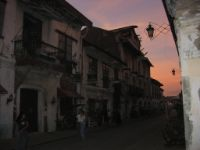 Vigan with its many Spanish-style buildings is a popular destination.