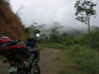 The map showed a road from Ilocos eastwards into the Kalinga mountains. However, the road slowly disappeared into impassable mountain forests.
