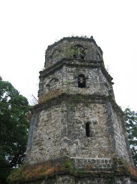 Paoay bell tower in Ilocos Norte.