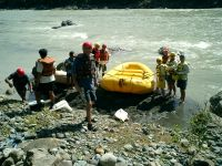 Chico river offers good rafting when the conditions are right.