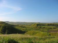 Deforested landscape near Enrile in Cagayan Valley.
