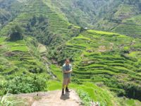 The spectacular rice terraces in Banawe, Ifugao province.